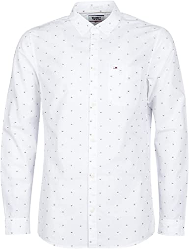 Tommy Hilfiger Dobby Camisa para Hombre