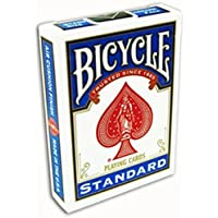 Bicycle Poker Size Standard Index Playing Cards-Blue Deck!
