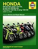 Honda 125 Scooters (Sh, Ses, Nes, Pes & Fes 125) (00 - 09)
