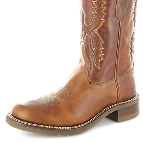 Cowboy Brown Tang Adult Unisex 11615 Boots Sendra WBqIH0A