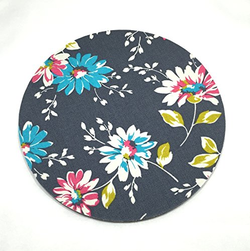 Daisy Flowers Mouse Pad / Fabric Covered / Office Supplies / Home Office / Decor / Desk / Mac Book / PC / Mouse-pad / Work Space / Flower / Office decor / Teacher Gift / Daisies