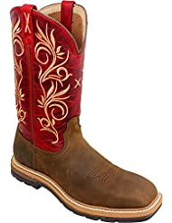 Twisted X Womens Lite Cowgirl Work Boot Steel Toe - Wlcs003