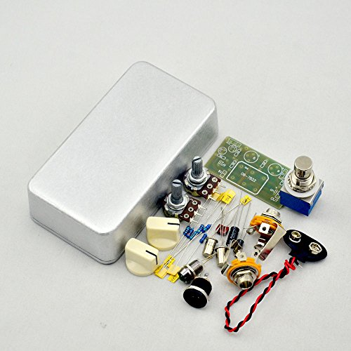 DIY Fuzz Face Effects Pedal Kits-Diy Guitar pedals kits with 1590B Box