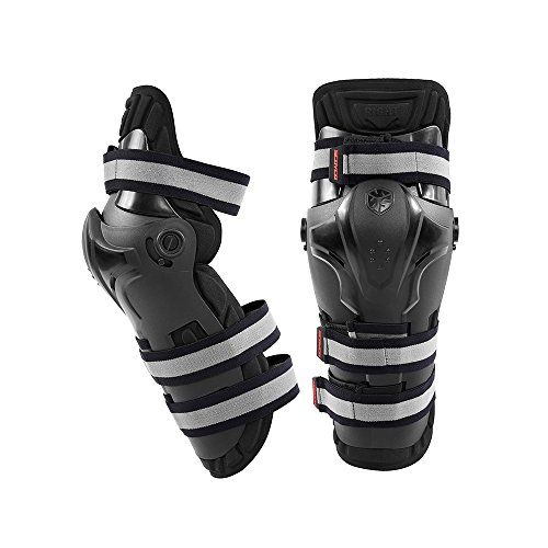 SCOYCO Motorcycling Knee Guard,Shock-Resistant Knee Protector with CE Certificated PP Shell,for Extreme Sport Equipment by SCOYCO