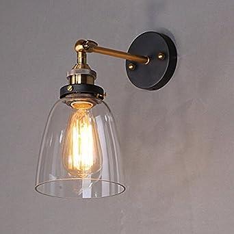 MMYNL Moderne Appliques Murales Vintage E27 Lampe pour Chambre Salon ...