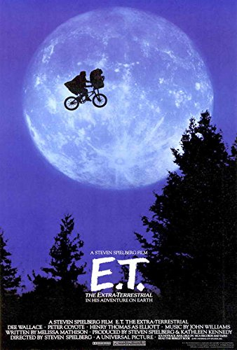E.T. The Extra-Terrestrial Movie Poster, Henry Thomas, A, Made In The U.S.A