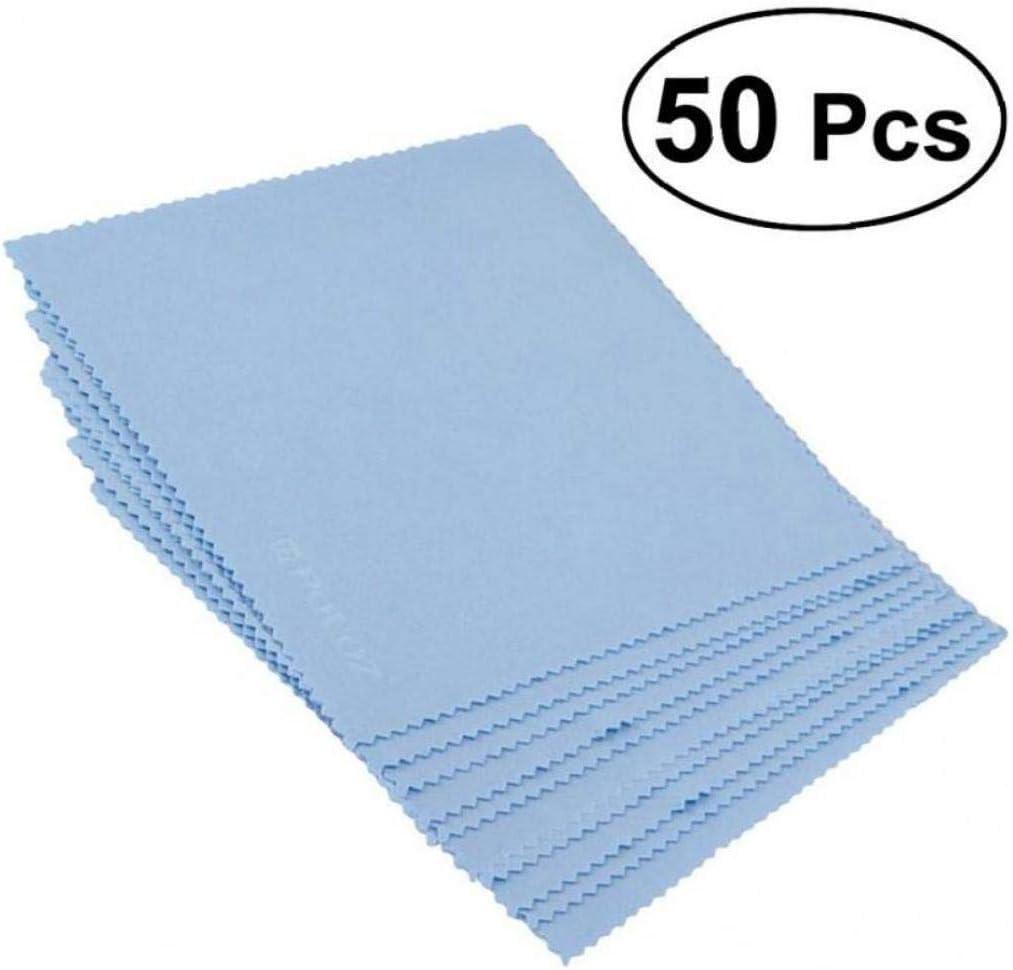 50pcs / Set Limpiador de Microfibra paño de Limpieza de Lentes de ...