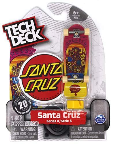 Tech Deck Santa Cruz Skateboards Series 8 Dressen Pup Fingerboard - 20094614