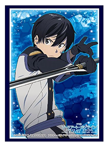Sword Art Online SAO Movie Kirito Trading Anime Card Game Character Sleeves Protector Vol. - Anime Border