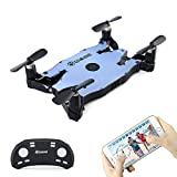 Quadcopter With 720P HD Camera, EACHINE E57 WiFi FPV Quadcopter Auto Foldable Arm Altitude Hold APP Control Selfie Pocket Drone