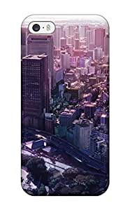 New OcaMcXG12295ViUVQ City Man Made City Skin Case Cover Shatterproof Case For Iphone 5/5s
