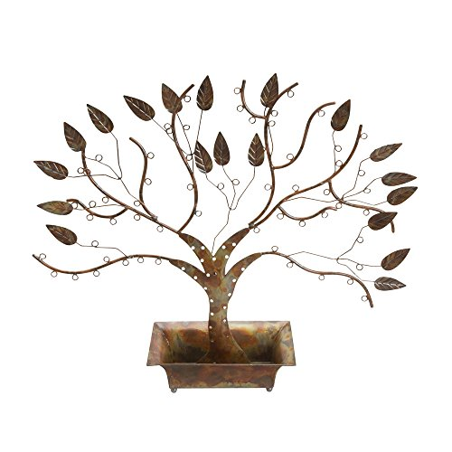 Ten Thousand Villages Recycled Metal Jewelry Tree