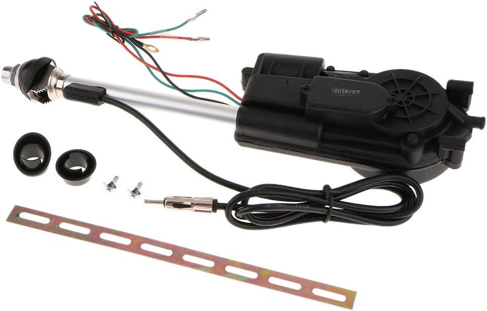 Antena Automática Eléctrica Kit para Carro Coche Vehículo ...