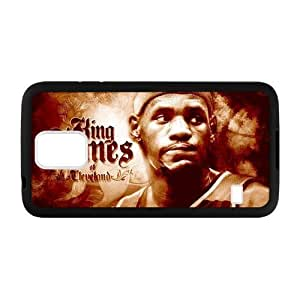 Hoomin Lebron James Excellent Basketball Player Samsung Galaxy S5 Cell Phone Cases Cover Popular Gifts(Laster Technology)