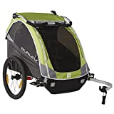 Burley Design D'Lite Child Bike Trailer, Green