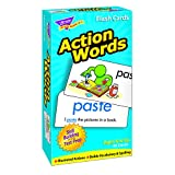 TREND ENTERPRISES INC. FLASH CARDS ACTION WORDS 96/BOX (Set of 12)
