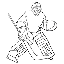 """Hosley's Metal Wall Décor 29.25""""High. Ideal gift for the Ice Hockey/ Sports Enthusiast.Ideal Gift for Dorm, Den Home, Weddings, Party, Spa, Meditation, Home Office"""