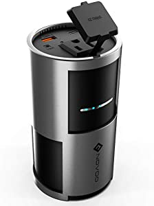 AC Power Bank Portable Charger NOVOO 22500mAh AC Outlet Laptop Power Bank Battery Pack with 2 USB Ports, 85w Output, 81Wh Universal Charger Compatible MacBook,Laptops,Tablets and Smartphone(Upgraded)