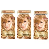 L'Oréal Paris Superior Preference Permanent Hair Color, 9GR Light Golden Red, 3 Count