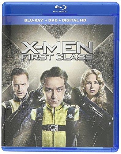 X-men First Class Blu-ray Triple Play Dhd