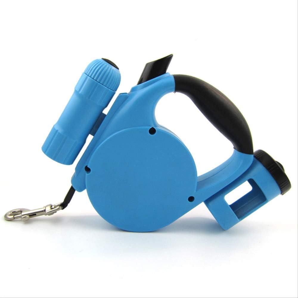 Duyifan 5Metros Nuevo Multifuncional automático retráctil Tirador de Perro Cuerda para Mascotas Suministros para Mascotas5Metros Azul Cielo