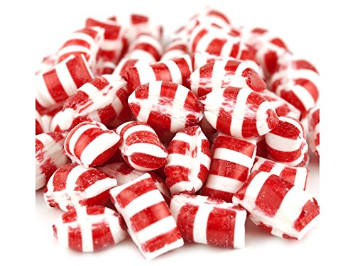Christmas Peppermint Gems filled hard candy 1 pound (Gems Christmas)