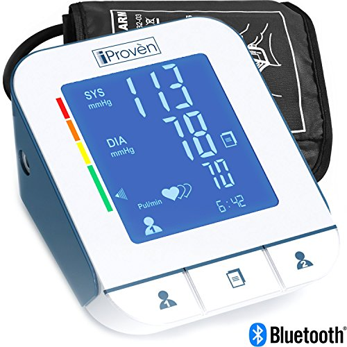 Blood Pressure Monitor Technology BPM 2244BT