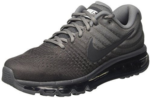 Nike Air Max 2017 Mens Running Shoes, Cool Grey/Anthracite-dark Grey, (10.5 D(M) US) (Nike Air Max Classic Bw)