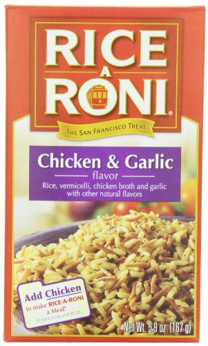 Rice-A-Roni Chicken & Garlic, 5.9-Ounce Boxes (Pack of 12) (Organic Rice Vermicelli compare prices)