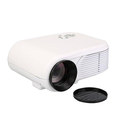Flylinktech® H88 proyector LED portátil, proyector HD Multimedia ...