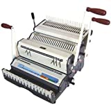 Akiles DuoMac-C51 Binding Machine & Punch Heavy Duty 2-in-1 Combs & 5:1 Coil
