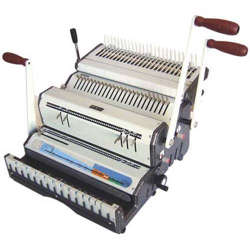 Akiles DuoMac-C51 Binding Machine & Punch Heavy Duty 2-in-1 Combs & 5:1 Coil by Akiles
