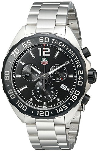 TAG Heuer Mens CAZ1110.BA0877 Formula 1 Stainless Steel Watch