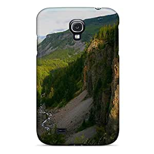 S4 Scratch-proof Protection Case Cover For Galaxy/ Hot Mountains Streams Phone Case