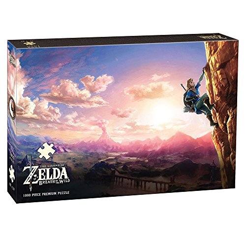 USAopoly The Legend of Zelda Breath of The Wild Scaling Hyrule Puzzle (1000 Piece) ()