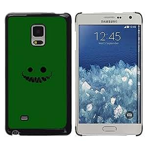 LECELL--Funda protectora / Cubierta / Piel For Samsung Galaxy Mega 5.8 -- Cara verde --