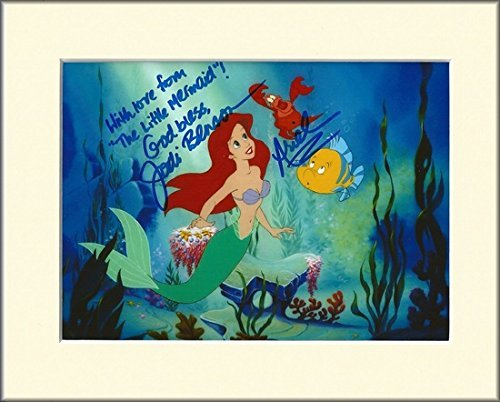 JODI BENSON THE LITTLE MERMAID SIGNED AUTOGRAPH PHOTO PRINT IN MOUNT by JODI BENSON SIGNED AUTOGRAPH PHOTO