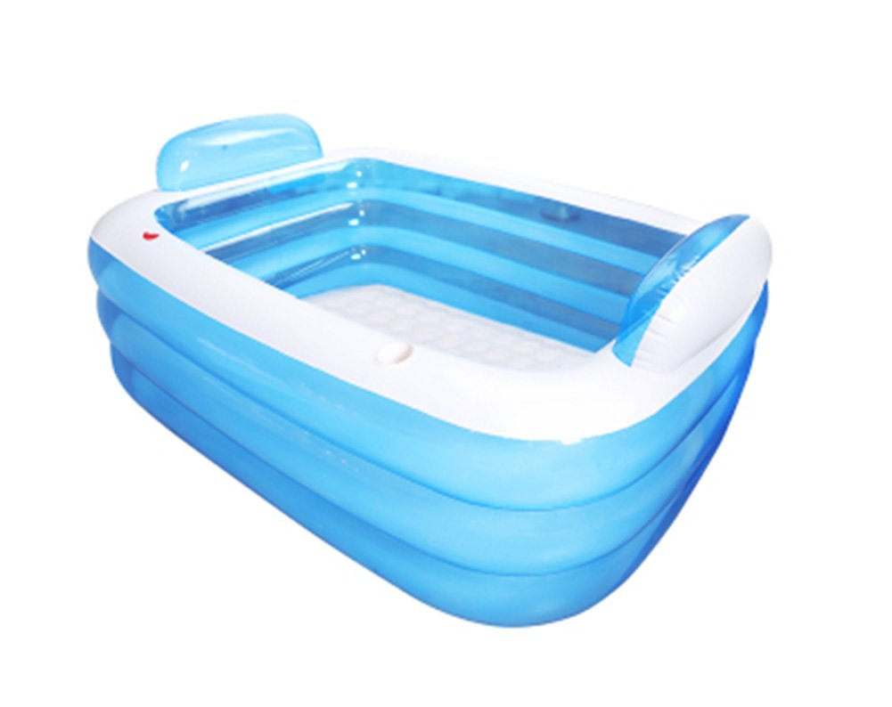 Inflatable Bathtub, Folding Bathtub Portable Adult Bathtub Swimming Pool Bathtub (Color : 15010555cm)