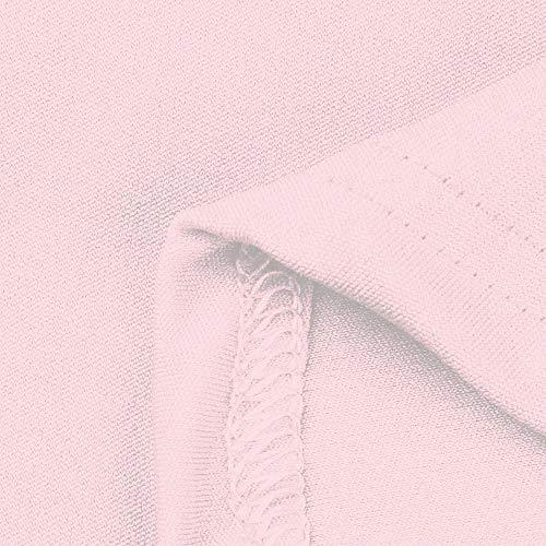 Collo Top Sweatshirt Casual Elegante Cerniera V Lunga Camicetta Cappotto Manica Lace Casual Maglione Libera Yesmile T Shirt Top Camicetta Stampato Rosa Tee Top Ladies Chiaro Camicia Womens q7EWaECpw