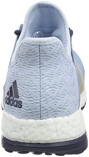 adidas Pureboost Xpose Clima, Zapatos Para Correr Para Mujer, Azul (Blu Azutac/Azusen/Lino), 44 EU