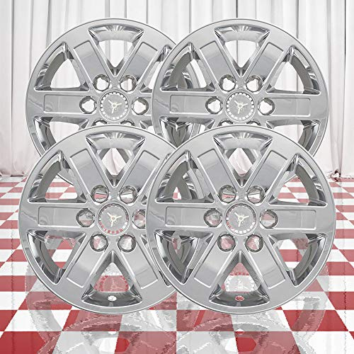 Brighter Design Set of 4 Chrome 6 Spoke 17