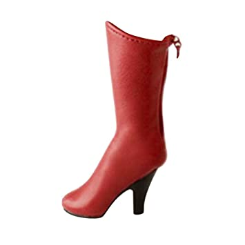 pour Haute 16 Rouge MagiDeal Botte Scale 12 9IYDHE2W