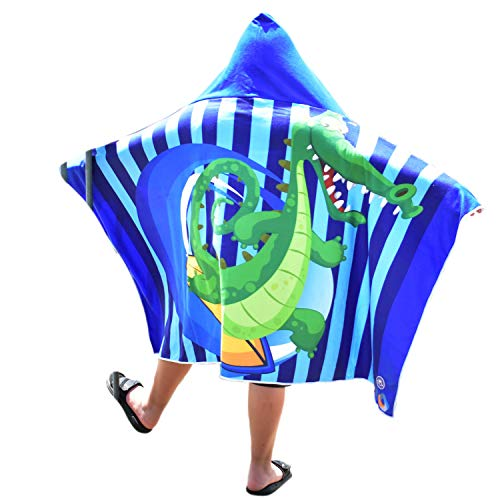 Crocodile Toddlers Swimming Coverup Ponchos product image