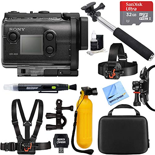 Sony HDR-AS50/B Full HD Action Cam + 32GB Outdoor Adventure Mounting Bundle Review