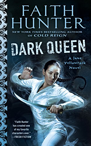 Dark Queen (Jane Yellowrock) cover