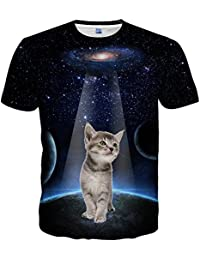 Mens Womens Unisex 3D Printed Short Sleeve Summer Casual Cool T-Shirts Fashion Couple Top Tees