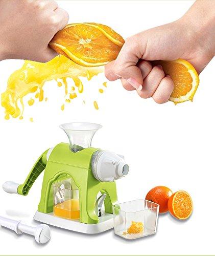 feeljoylife multifuncional Manual exprimidor de zumo y helado máquina: Amazon.es: Hogar