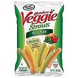 Sensible Portions Garden Veggie Straws, Sea Salt, 1 Ounce, (Pack of 46)