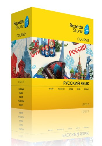 Rosetta Stone - Curso De Ruso, Nivel 1-Discontinued from manufacturer por Rosetta Stone