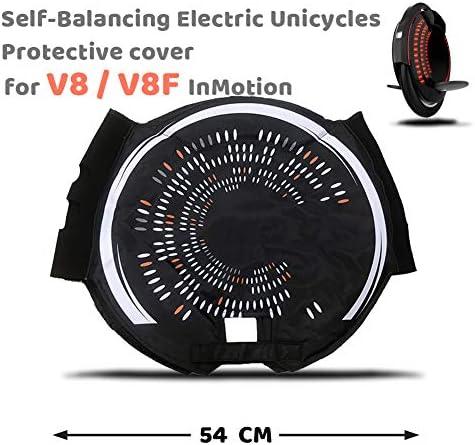 MAQLKC Housse de Inmotion V5F/V8F/V10F Version Accessoire de Protection Gyroroue Mixte Adulte Noir